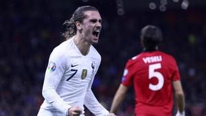 Hasil Kualifikasi Piala Eropa 2020: Prancis Tekuk Albania 2-0