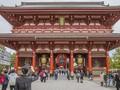 Kemeriahan Kuil Sensoji, Tempat Ibadah Buddha Tertua di Tokyo