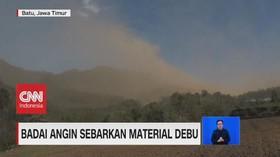VIDEO: Badai Angin & Debu Terjang Kota Batu Jawa Timur