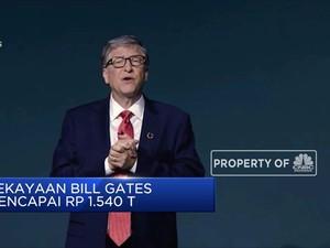 Bill Gates Geser Jeff Bezos Jadi Orang Terkaya di Dunia