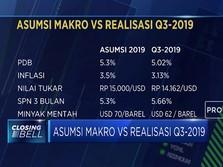 Begini Realisasi vs Proyeksi Asumsi Makro APBN 2019