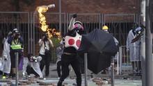 Pemimpin Hong Kong Desak Pedemo Duduki Kampus Menyerah