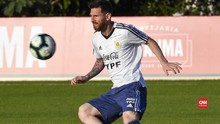VIDEO: Argentina vs Uruguay di Israel, Messi Akan Tampil