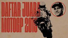 INFOGRAFIS: Daftar Juara di MotoGP 2019