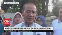 VIDEO: Komentar Bupati Majalengka Soal Kasus Penembakan