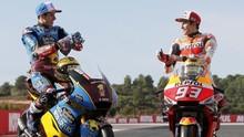 Alex Marquez Kecelakaan Saat Tunggangi Honda di Tes MotoGP