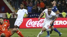 Hasil Kualifikasi Piala Eropa: Inggris Bungkam Kosovo 4-0