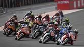 Jorge Lorenzo memulai balapan MotoGP Valencia dari posisi ke-16.. (Photo by PIERRE-PHILIPPE MARCOU / AFP)