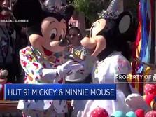 91 Tahun Bersama, Mickey & Minnie Mouse Rayakan Hari Jadinya