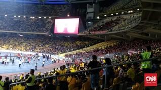 Pengeroyokan Suporter RI Disebut Bukan di Stadion Bukit Jalil