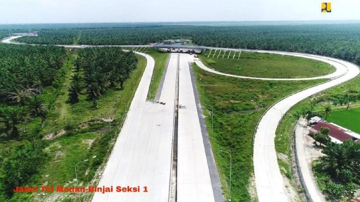 Jalan Tol Sumatera, Medan – Binjai Seksi 1 (Biro Komunikasi Publik Kementerian PUPR)