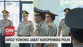 VIDEO: Argo Yuwono Jabat Karopenmas Polri