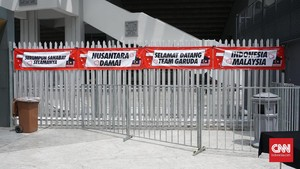 Jelang Malaysia vs Indonesia, Suasana Bukit Jalil Bersahabat