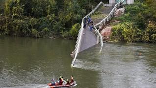 Satu Korban Jembatan Ambruk di Purwakarta Ditemukan Meninggal