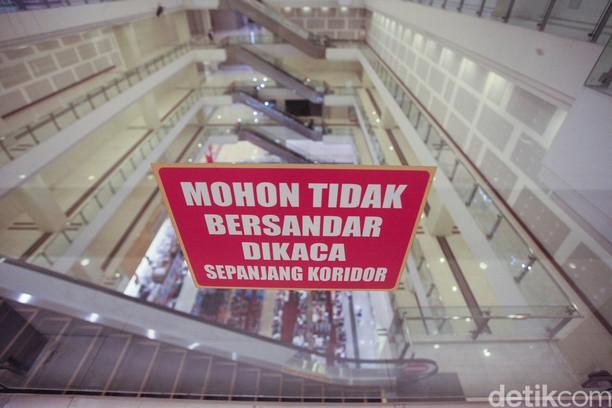 Satu Lagi, Penampakan Mal Sepi di Tengah Jakarta