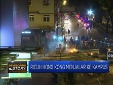 Ricuh Hong Kong Menjalar ke Kampus
