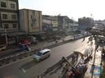 Potret Lengang Jalanan Tanah Abang yang Sering Kali Macet