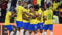 Coutinho Tampil Impresif, Brasil Kalahkan Korsel 3-0