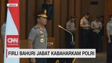 VIDEO: Firli Bahuri Jabat Kabaharkam Polri