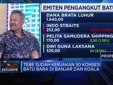 Optimisme TEBE di Bisnis Servce Konsesi Tambang Batu Bara