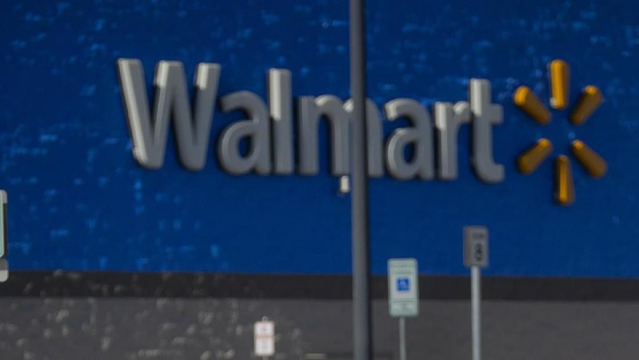 Penembakan di Walmart Oklahoma AS (Chris Landsberger/The Oklahoman via AP)