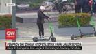 VIDEO: Pemprov DKI Izinkan Otopet Listrik Pakai Jalur Sepeda