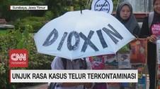 VIDEO: Unjuk Rasa Kasus Telur Terkontaminasi