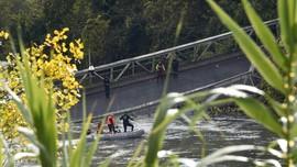 Setneg: Jembatan Ambruk Utan Kemayoran Proyek Belum Rampung
