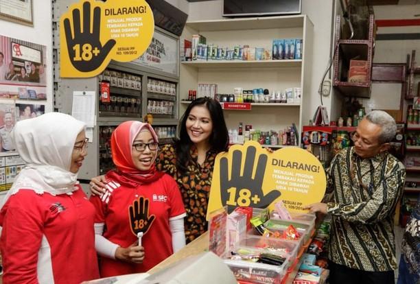 Cegah Akses Pembelian Rokok oleh Anak-Anak