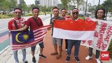 Suporter Indonesia ke Malaysia Membawa Nyali dan Persaudaraan