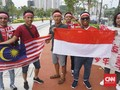 Pemukulan Suporter di Malaysia Dikategorikan Kasus Perampokan