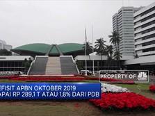 Defisit APBN Oktober 2019 Capai Rp 289,1 T