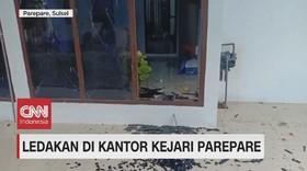 VIDEO: Ledakan di Kantor Kejari Pare-pare