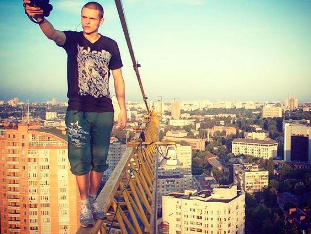ia pernah digosipkan jatuh lalu meninggal yang ternyata hanya hoax. Foto: Instagram
