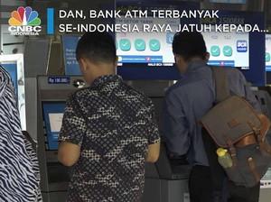 Tebak, Bank ATM Terbanyak se-Indonesia Raya Adalah...