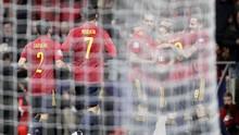 Spanyol Unggul 4-0 Atas Rumania di Babak Pertama