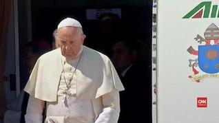 VIDEO: Misi Kemanusiaan, Paus Fransiskus Tiba di Bangkok