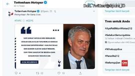 VIDEO: Mourinho Resmi Dikontrak Tottenham Hotspur