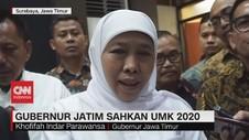 VIDEO: Gubernur Jatim Sahkan UMK 2020
