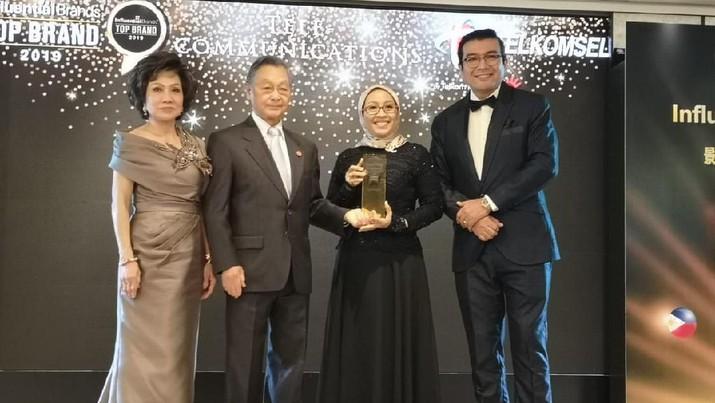 Telkomsel dinobatkan sebagai Asia's Top Influential Brand dalam ajang Influential Brand Awards 2019.