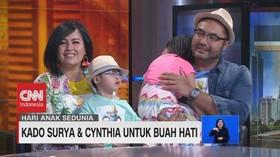 VIDEO: Kado Surya Saputra & Cynthia Lamusu Untuk Buah Hati