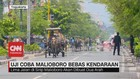 VIDEO: Uji Coba Jalan Malioboro Bebas Kendaraan