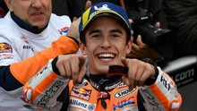 Marquez Tertawa Sang Adik Kecelakaan di Tes MotoGP
