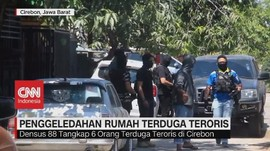 VIDEO: Penangkapan Terduga Teroris di Cirebon dan Majalengka