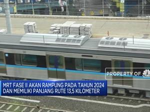MRT Fase II Akan Dibangun Tahun 2020
