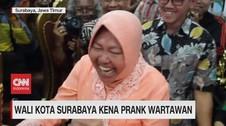 VIDEO: Wali Kota Surabaya Kena Prank Wartawan