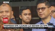 VIDEO: 3 Pimpinan KPK Ajukan Uji Materi UU KPK