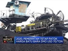 Harga Batu Bara DMO Tetap USD 70 Per Ton di 2020