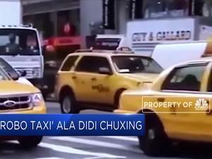 'Robo Taxi' Ala Didi Chuxing