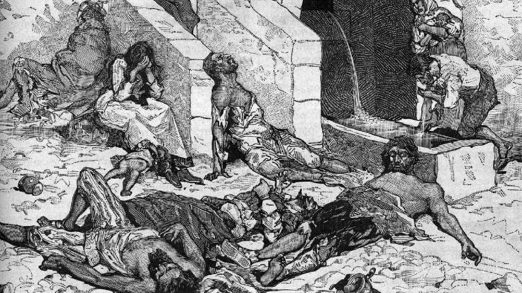 Kuburan Korban Penyakit 'Maut Hitam' Ungkap Fakta Mengerikan